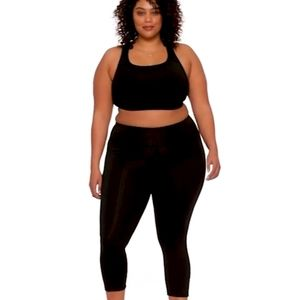 Old Navy Elevate Plus Size Cropped Yoga Leggings